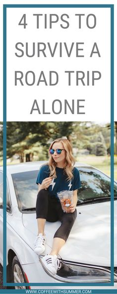 Going on a solo road trip? I've got some tips for you! 4 Tips To Survive A Road Trip Alone | Road Trip | Travel | Travel Blogger | California Almonds