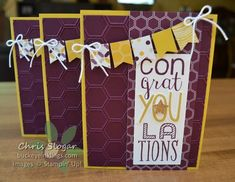 Stampin' Up! Bravo, Moonlight dsp stack, banner punch