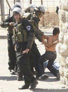 A Palestinian child