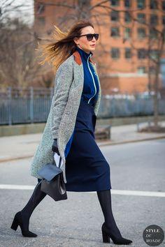 574ab1910a New York Fashion Week FW 2016 Street Style  Ece Sukan