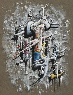 Yves Tanguy - 1946 - Untitled