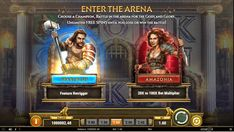 Let the battles begin at www.eat-sleep-bet.com in Play'n GO's latest slot title Game of Gladiators with several mystery features! Best Online Casino, Spartacus, Gladiators, Casino Games, Eat Sleep, Free Games, Slot, Battle