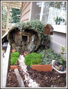 Large fairy garden houses making fairy garden large size of Large Fairy Garden, Fairy Garden Houses, Gnome Garden, Garden Art, Garden Design, Home And Garden, Fairy Tree Houses, Fairies Garden, Garden Terrarium