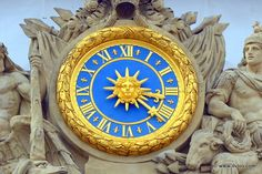 Details of Versailles Palace - France.