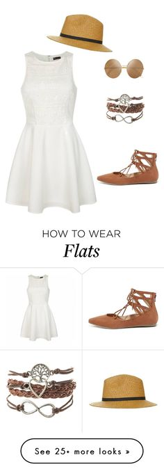 """Untitled #736"" by hyewon-park1020 on Polyvore featuring Liliana, Ally Fashion, Topshop and Victoria Beckham"