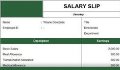 """Are you looking for """"Salary Slip Format in Excel""""? This post will help to solve issues of financial planning regarding maintaining employee's salary slip. Payroll Template, Invoice Template Word, Alphabet Worksheets, Financial Planning, Scarf Styles, Templates, American, Words, Stencils"""
