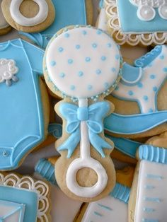 1000 Images About Cookie Creations Baby On Pinterest