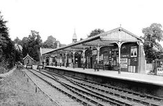 Croxley Green station (now disused)