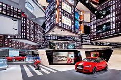 PERSPEKTIVWECHSEL Audi - IAA Frankfurt 2013 | Schmidhuber | Exhibition Design