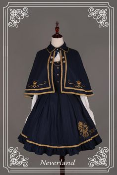 Soufflesong is an indie Lolita fashion brand based in China. We design and sell our own lines of Gothic, Classic and Sweet Lolita fashion to worldwide. Old Fashion Dresses, Fashion Outfits, Fashion Shirts, Mode Lolita, Lolita Style, Gothic Lolita Dress, Gothic Lolita Fashion, Anime Dress, Fantasy Dress