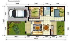 Rumah sederhana yang biasanya dibangun atas lahan seluas 6X12 meter adalah rumah sederhana dengan type 36 karena tanah seluas 72 meter persegi hanya akan menyisakan lahan yang kecil jika digunakan …