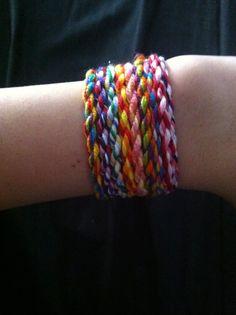 Glitterologie: DIY Twist Friendship Bracelet
