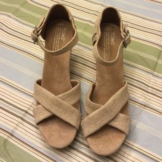 Toms. Beige New without tags TOMS Shoes Espadrilles