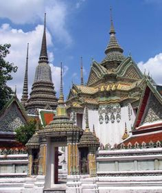 Buddhist temple in Phra Nakhon district, Bangkok, Thailand. It is the oldest and largest Buddhist temple in Bangkok. It is home to more Buddha images than any other Bangkok temple and it shelters the largest Buddha in Thailand.