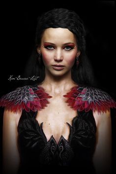 Katniss Everdeen La chica en llamas 7u7
