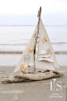 Купить КОРАБЛЬ большой - бежевый, корабль, море, кораблик, кораблики, паруса, парусник, парусники, коряга
