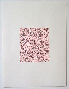 Thread drawings by Emily Barletta.