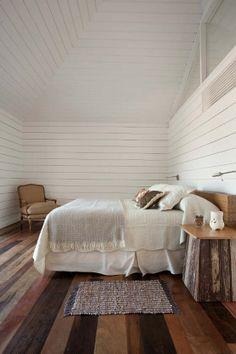 {<3} White wood walls