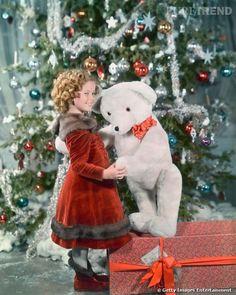 Shirley Temple's Son   Shirley Temple et son Noël d'enfant star en 1935.