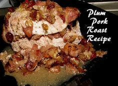 Plum Pork Roast recipe for the ancestors photo by Lilith Dorsey. All rights reserved and protected by voodoo.