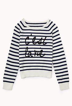 C'est La Vie Sweater (Kids)