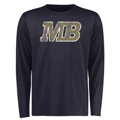Cal State Monterey Bay Otters Big & Tall Classic Primary Long Sleeve T-Shirt - Navy