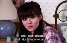 Shannen in Beverly Hills 90210 breakups