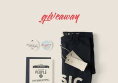 Join our giveaway and win a music tee by Plato, two pins designed with vintage typography (kalimera and Accuracy pins) and one card with quote on by Ernest Hemingway after a draw! One lucky winner! Vintage Typography, Ernest Hemingway, Other People, Announcement, Giveaway, November, Join, Quote, Draw