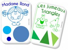 Maternelle MS - GS - (page - Saperlipopette Kindergarten, Preschool Literacy, Teaching Math, Activities For Kids, Math Figures, Mathematics Geometry, Monsieur Madame, Math Strategies, 4th Grade Math