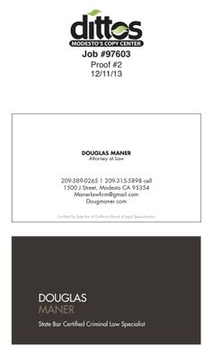 Attorney business card template free download printtokill i wanted a simple yet elegant card and used some features of the cards on your fishbowl page and elsewhere self designed printed by dittos accmission Gallery