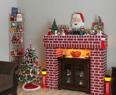 retro christmas mantle - Yahoo Image Search Results