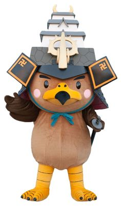 Aomori mascot ... http://fuzzandfur.net/