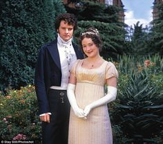 This photo from Pride and Prejudice shows what wealthy people of the time would be wearing, and what the prisoners aspire to be like.