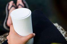 Dieser Kaffeebecher misst den Koffeingehalt