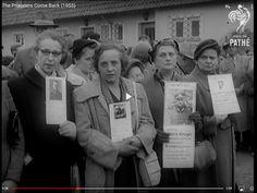 Stalingrad survivors came home. 1955.