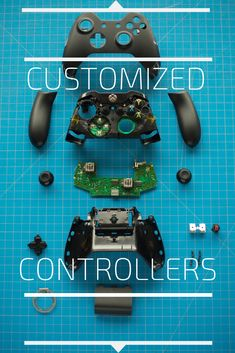 Custom gaming controllers. Customized PS4 and XBOX one controllers for Fortnite and other games.