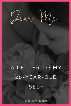 A letter to my younger self when battling alcoholism and addiction, self-harm, eating disorders and depression. Learning to love myself, build my confidence and self-esteem.