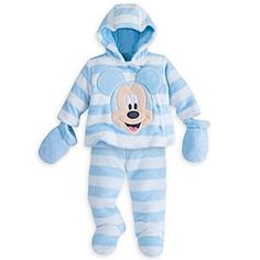d7ceb3c4a Mickey Mouse Snugglesuit Set for Baby | Disney Store Your little  Mouseketeer is ready for snuggle