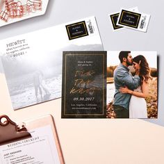 Choose your favorite photo to share your date. | Wedding Invitations | Save the Dates