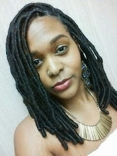 She is definitely rocking this look #FauxLocs