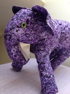 Ellie: Homemade Plush Elephant Toy