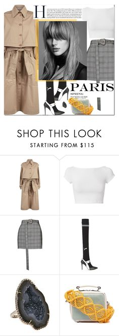 """""""Paris Fashion Week Travel Outfit"""" by outfitsfortravel ❤ liked on Polyvore featuring STELLA McCARTNEY, Helmut Lang, Magda Butrym, Puma, Kimberly McDonald and Marni"""