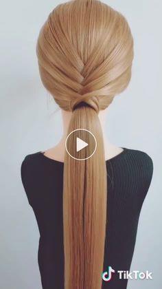 Estilo de cabelo 髪 髪 😍 た # い い 😍 # 長 い 髪, # - # # 長 い 髪 # 長 髪 髪 型 し い い いComo Trançar ? 20 Tutoriais das mais belas tranças no cabelo Hairstyles em 2019 - Arte no Papel Online Cute Hairstyles, Braided Hairstyles, Wedding Hairstyles, Eyeshadow Looks, Hair Videos, Hair Trends, Bridal Hair, Curly Hair Styles, Beauty Hacks