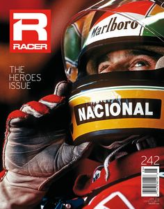 Ayrton Senna graces the cover of the June 2012 RACER.