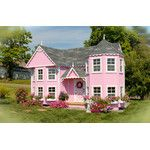 Would LOVE to have this for my daughter one day! Little Cottage Sara Victorian 8 x 16 Mansion Wood Playhouse - Outdoor Playhouses at Play Houses Kids Indoor Playhouse, Playhouse Kits, Build A Playhouse, Cedar Playhouse, Childrens Playhouse, Backyard Playhouse, Little Girls Playhouse, Castle Playhouse, Playhouse Interior