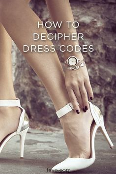 Finally, the answer to all the mysterious dress code lingo on work invites!