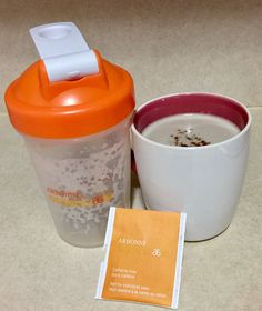 I can't believe I'm about to say this, I DON'T miss coffee!  This is why!  Brew 1 cub of Arbonne Herbal Detox Tea in 8oz of water. In a blender add brewed tea, one scoop of Arbonne Vanilla Protein powder, 1/2 a cup of almond or coconut milk (unsweetened) 1/2 teaspoon of vanilla and dash of stevia. Blend on high if you like it frothy. (This will also work in a shaker cup!) Sprinkle with cinnamon or nutmeg! www.brookgriffin.arbonne.com