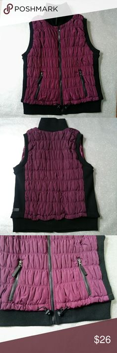 NWOT Calvin Klein Performance Vest Purple puffer vest with Smartphone pocket on inner left panel.  Brand New!! One size. calvin klein Other