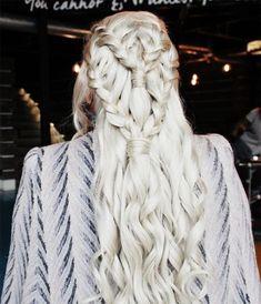 Amazing khaleesi game of thrones hairstyle ideas 36