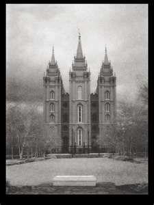 Vintage photo of the LDS Salt Lake City Temple Lds Pictures, Temple Pictures, Pretty Pictures, Jesus Christ Lds, Lds Church, Church Ideas, Salt Lake Temple, Lds Art, Lds Temples